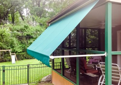 02 Retractable Awning Open